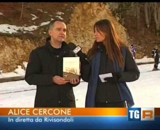 TGR RAI3 - Lo storico Ugo Del Castello parla della slittovia d'argento